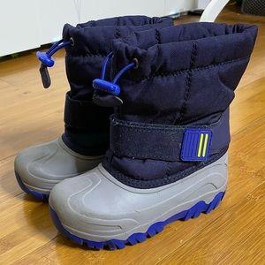 Cat & Jack Thermolite barrett winter boots navy 11